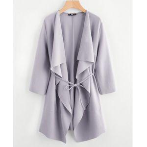 Jackets & Blazers - Wrap coat